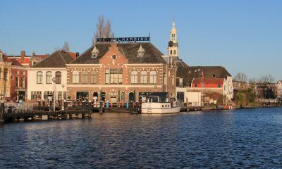 Onder water in Leiden